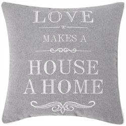 Love Makes A House Decorative Pillow