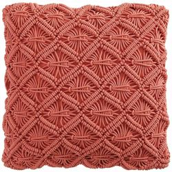 Victoria Classics Dorothea Macrame Decorative Pillow
