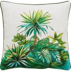 Tropical Jungle Decorative Pillow