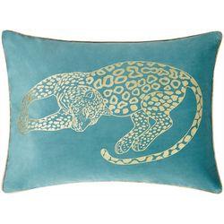 Victoria Classics Into The Wild Leopard Decorative Pillow