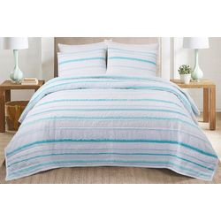 Coastal Home 3-pc. Key Largo Quilt Set
