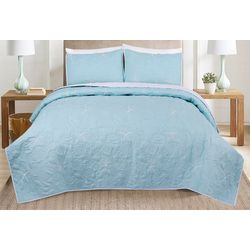 3-pc. Shell Cottage Quilt Set