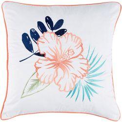 Breezy Cove Floral Decorative Pillow