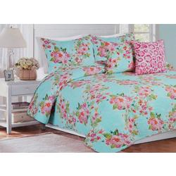 Boundless Floral Quilt Set