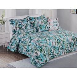 Lush Blush Print Quilt Set