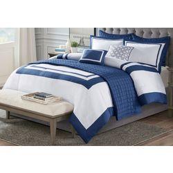 8-pc. Heritage Comforter & Coverlet Set