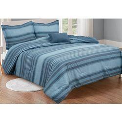 Gingham & Thread Stripe Comforter Set