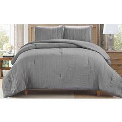 CHD Home Textiles Cleveland Crinkle Comforter Set