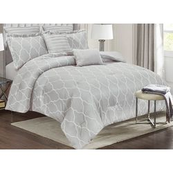 Catava Embroidered Comforter Set