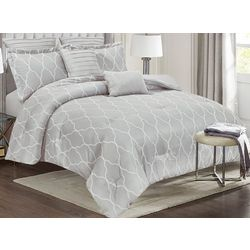 CHD Home Textiles Catava Embroidered Comforter Set