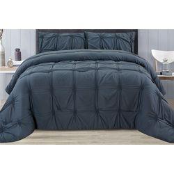 CHD Home Textiles Kenwood Pintuck Comforter Set