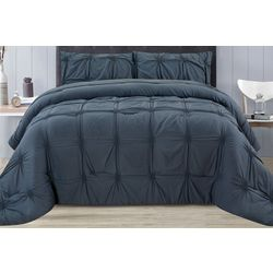 CHD Home Textiles Kenwood Pintuck Comforter Set