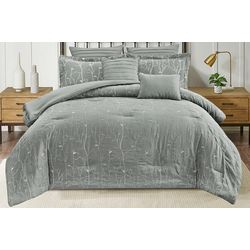 CHD Home Textiles Branch Embroidered Comforter Set