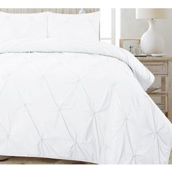 CHD Home Textiles Diamond Pinched Quilt Set
