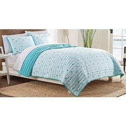 IZOD Waters Edge Quilt Set