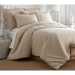 Linen Cotton Solid Comforter Set