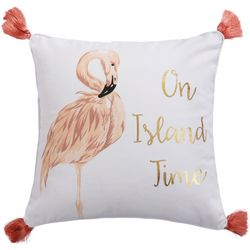 On Island Time Decorative Pillow