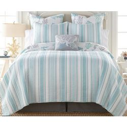 Levtex Home Cape Coral Quilt Set