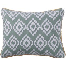 Levtex Home Layla Diamond Decorative Pillow