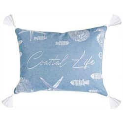 Beach Bungalo Ocean Isle Coastal Life Decorative Pillow