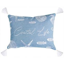 Ocean Isle Coastal Life Decorative Pillow