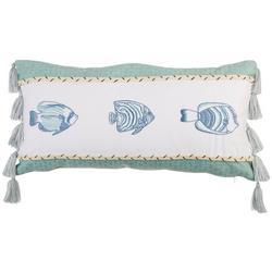Ocean Isle Fish Decorative Pillow