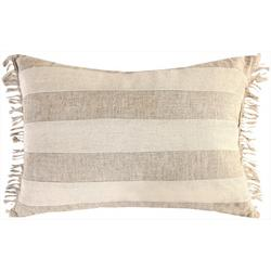Pieced Linon Decorative Pillow