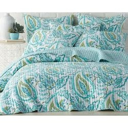 Tamsin Teal Quilt Set