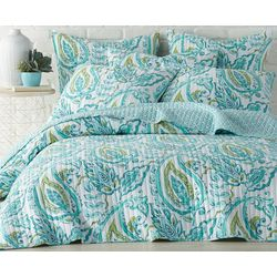 Levtex Home Tamsin Teal Quilt