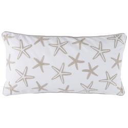 Nantucket Starfish Decorative Pillow