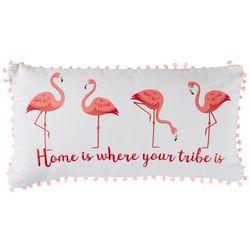 Levtex Home Flamingo Tribe Decorative Pillow