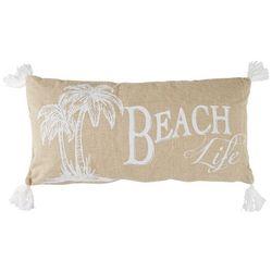 Levtex Home Beach Life Palm Tree Decorative Pillow