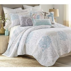Saltwater Home Sea Reef Quilt Set