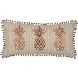 Saltwater Home Monte Verde Trio Pineapple Decorative Pillow