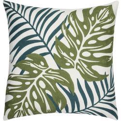 Monte Verde Leaves Crewel Decorative Pillow