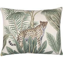 Saltwater Home Monte Verde Jungle Scene Decorative Pillow