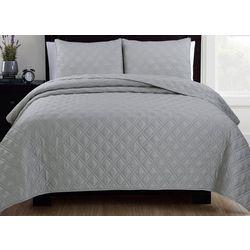 Estate Collection Diamond Quilt Set