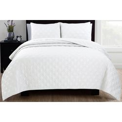 Estate Collection Diamond Quilt Set