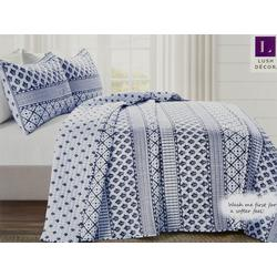 Monique Stripe Quilt Set