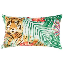 Coastal Home Tiger Decorative Pillow