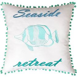 Seaside Resort Seaside Retreat Decorative Pillow