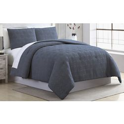 Modernthreads Diamond Fringe Comforter Set