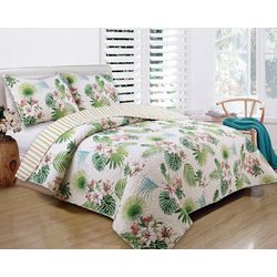 3-pc. Tropical Beauty Comforter Set