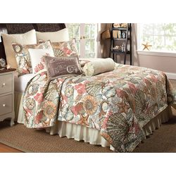 Elise & James Home Brushed Ashore Quilt Set