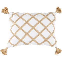 Coastal Home Floating Shells Blissful Decorative Pillow