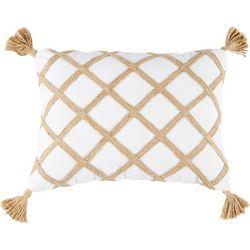 Floating Shells Blissful Decorative Pillow