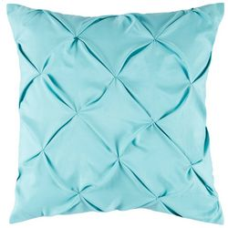 Pintuck Aqua Decorative Pillow