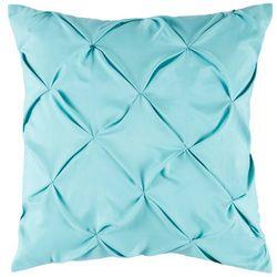 Pintuck Aqua Decorative Pillow