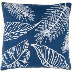 Rio Palms Crewel Palms Decorative Pillow