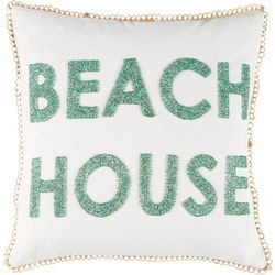Coastal Home Beach House Decorative Pillow